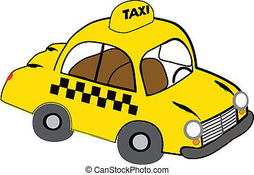 taxi, sárga