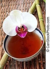 tea, orhidea