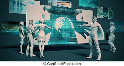 technológia, bomlasztó