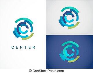 technológia, jelkép, -, tech, jel, ikon