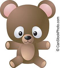 teddy-mackó, ábra, hord