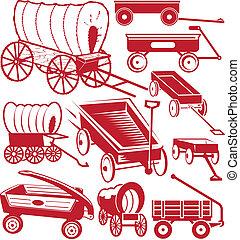 tehervagon, gyűjtés