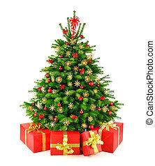 tehetség, fa, természetes, karácsony, falusias