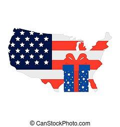 tehetség, fehér, egyesült államok, egyesült, háttér, térkép, doboz