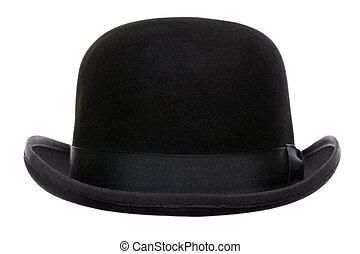 tekéző, elvág, kalap, ki