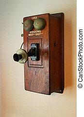 telefon, öreg idő