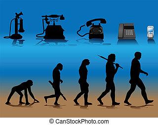 telefon, fejlődés