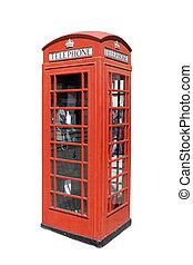 telefon, klasszikus, brit