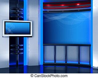 televízió studio