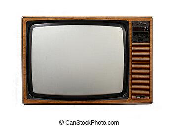 televíziókészülék, retro
