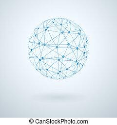 teljes hálózat, ikon