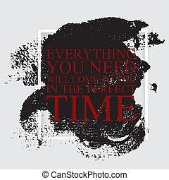teljes, karrier, árajánlatot tesz, motivációs, -, akar, minden, belélegzési, idő, szükség, ön, jön