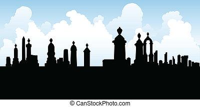 temető, sírkő