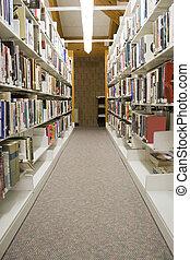 templomi oldalhajók, könyvtár