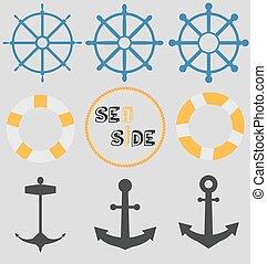 tenger, ikonok