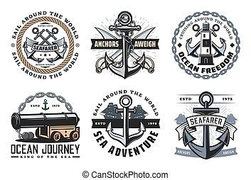 tengeri, címertani, ikonok, jelkép