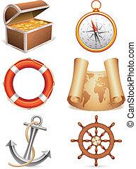 tengeri, icons.