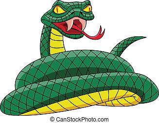 tengeri teknős, mérges, zöld