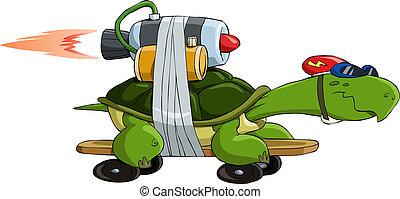 tengeri teknős, tigriscsiga