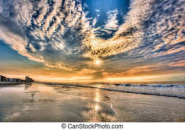 tengerpart, daytona, sunrise!!