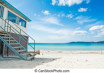 tengerpart gátol, tenger