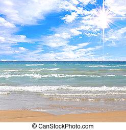 tengerpart, nagyszerű