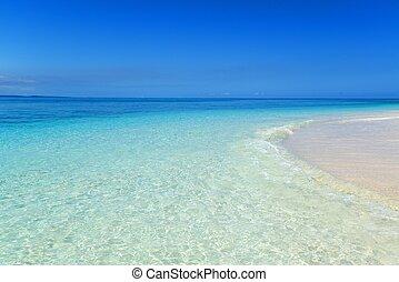 tengerpart, summertime idő, nagyszerű