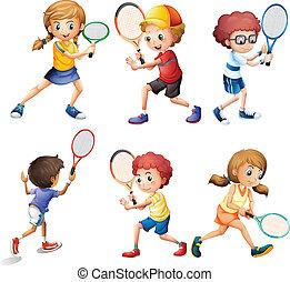 tenisz, akciók