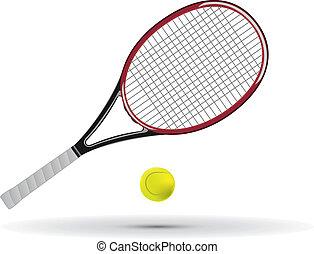 teniszlabda, lárma