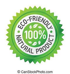 termék, eco-friendly, aláír