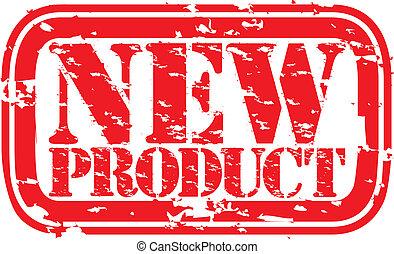 termék, grunge, ve, bélyeg, gumi, új