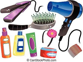 termékek, haj