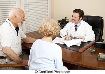 terv, bánásmód, orvos, fejteget
