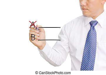 terv, b., ügy