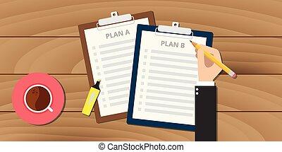 terv, csipeszes írótábla, ábra, b betű
