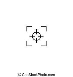 tervezés, összpontosít, egyszerű, ikon, jelkép