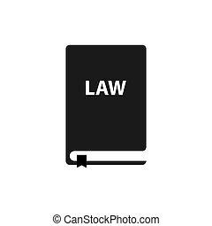 tervezés, egyszerű, ikon, jelkép, törvény