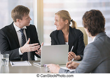 tervezés, munka, businesspeople