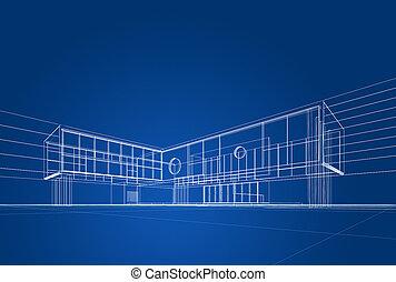 tervrajz, építészet