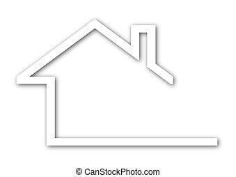 tető, épület, oromzat