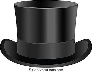 tető kalap, alacsony