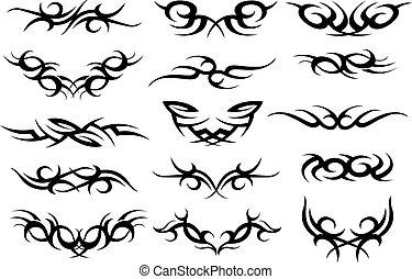 tetovál, jelkép, tervezés