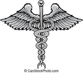 tetovál, mód, jelkép, ábra, vektor, pusztulásnak indult, gyógyulás