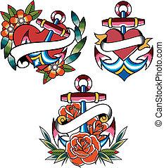 tetovál, vasmacska