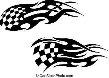 tetovál, versenyzés