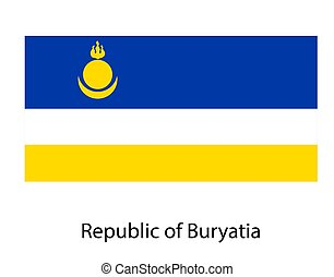 texture., jelkép, ábra, russia., fehér, legyőz, háttér, szövetségi, köztársaság, buryatia, lobogó, nemzeti