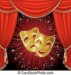 theatrical álarc