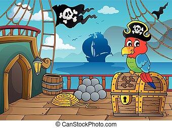 thematics, hajó, 2, kalóz, fedélzet