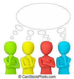think., emberek, -, 3, kicsi