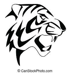 tiger, arc